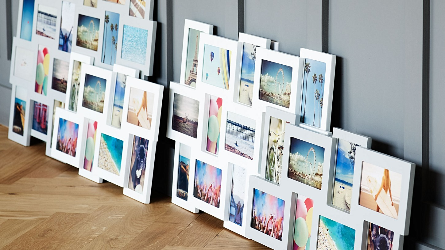 Multi picture frames white images craft decoration ideas multi picture frames white cheap square wooden black multi photo multi picture frames white with multi jeuxipadfo Images