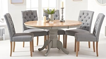 Oak Furniture Super Solid Dining Living Room