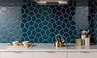 Blue Kitchen Tiles >> Kitchen Wall Tiles Topps Tiles