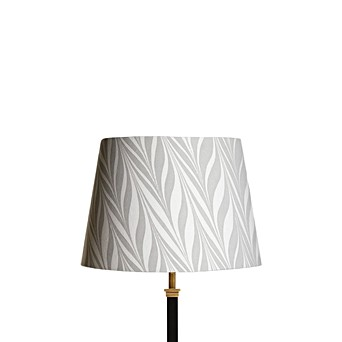 30cm Straight Empire Shade In Hand Made Marbled Paper