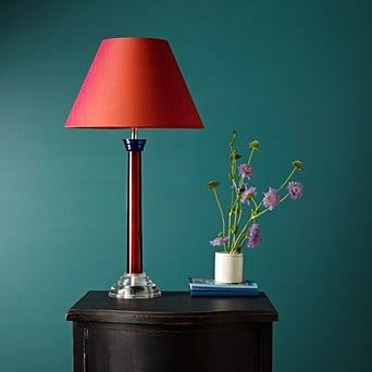 Disco Table Lamp In Polished Tricolore Acrylic Table Lamps