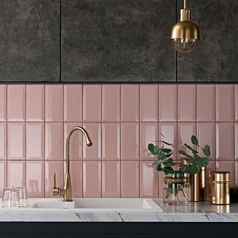 Pink Tiles For Kitchens Topps Tiles
