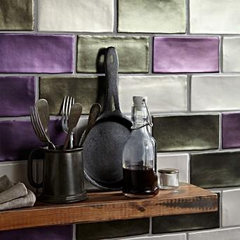Purple Tiles For Kitchens Topps Tiles