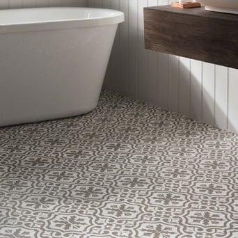 The Victorian Design Tile Trend Topps, Victorian Style Bathroom Floor Tiles