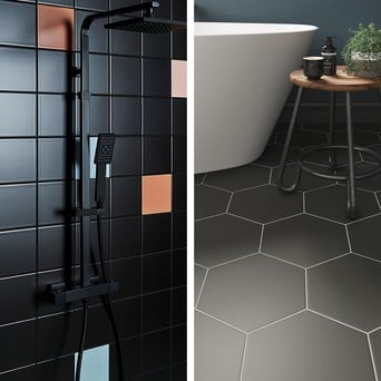 How To Use Grout Colour To Complement Tiling Topps Tiles