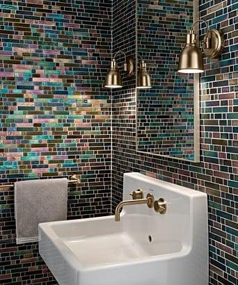 Botella Indian Pea Mosaic Tile
