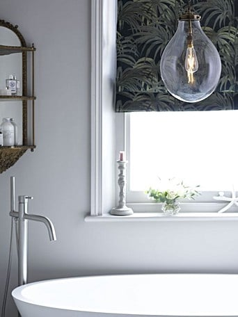 Using Designer Lighting In A Bathroom A Safety And Style Guide