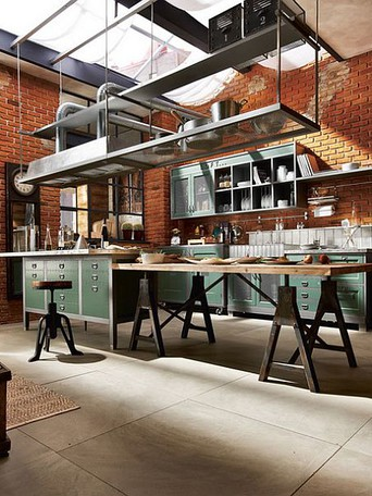The Industrial Style Kitchen Tips For Lighting And Decor