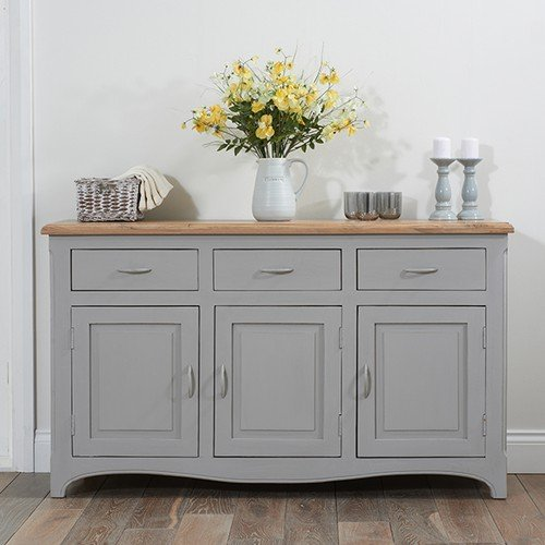 new arrival 37a8a 24201 Parisian Grey Shabby Chic Sideboard