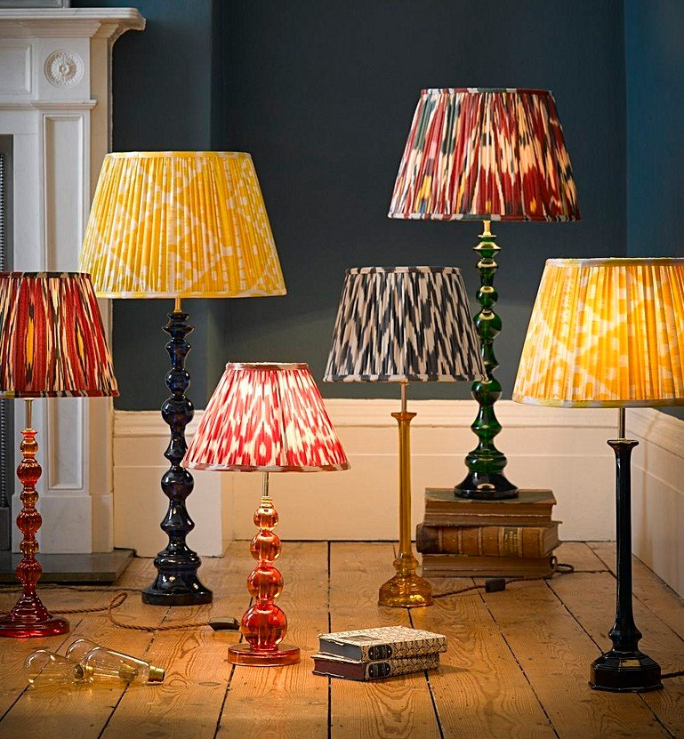 All about resin table lamps