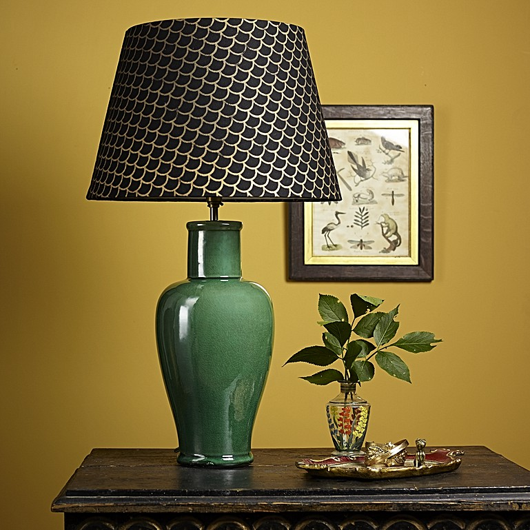 All about ceramic table lamps