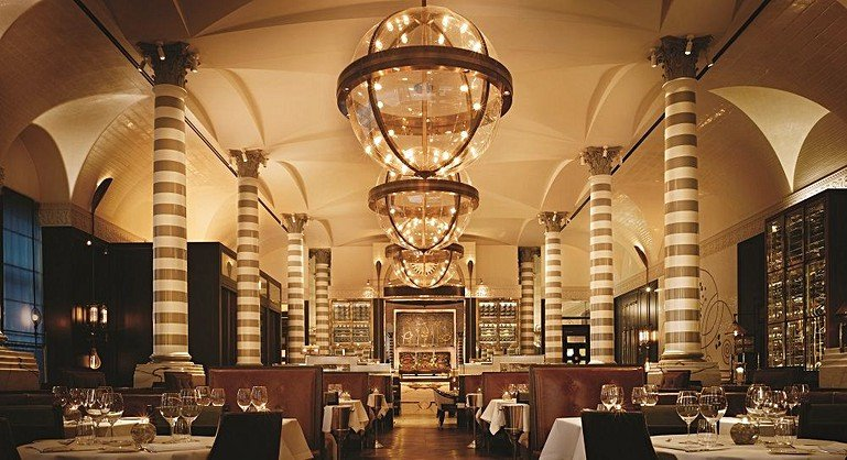 The 10 Most Beautiful Restaurant Interiors In London