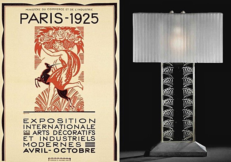 The history of design in table lamps 3 art deco
