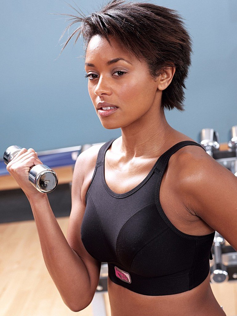 f831d4566e212 Impact Free' High Impact, Non-Wired Sports Bra Perfect For All Types ...