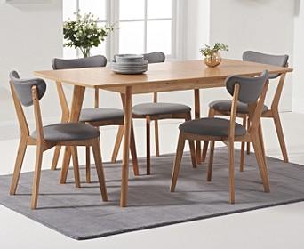 Retro Dining Sets Oak Furniture Super