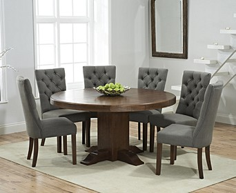 Oval Round Dining Table Chair Sets Oak Furniture