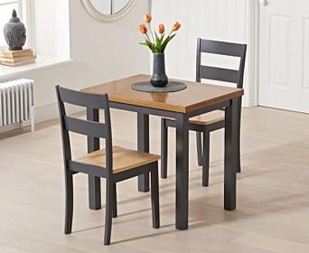Painted Oak Extending Dining Table Sets Oak Furniture