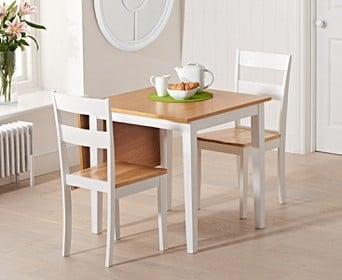 White Kitchen Table & Chairs | Oak Furniture Superstore