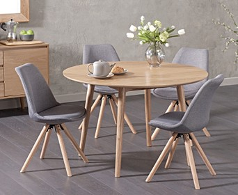 Oval Oak Dining Table Sets Oak Furniture Superstore