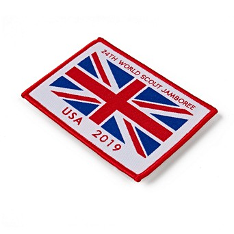 UKC 24th World Scout Jamboree Union Jack Fun Badge