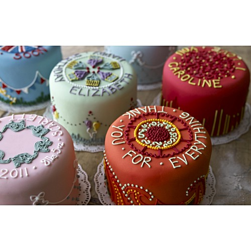 Hand Iced Cakes By Biscuiteers