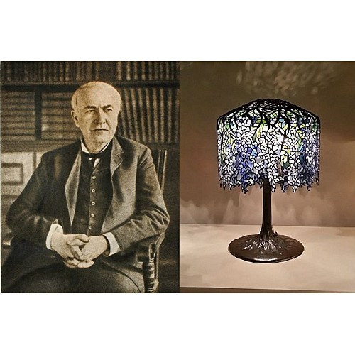 American Arts and Crafts table lamp