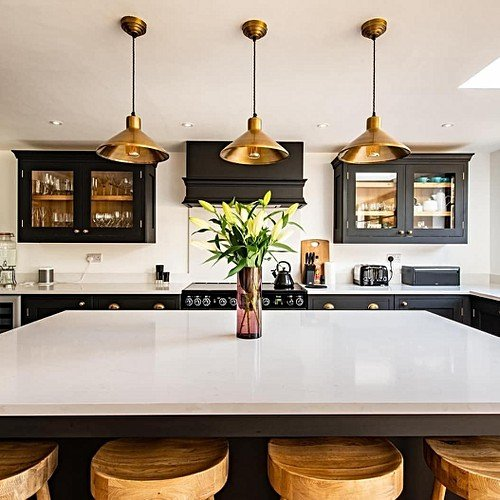 Pendant Lights And Islands Super Stylish Kitchen Lighting Ideas