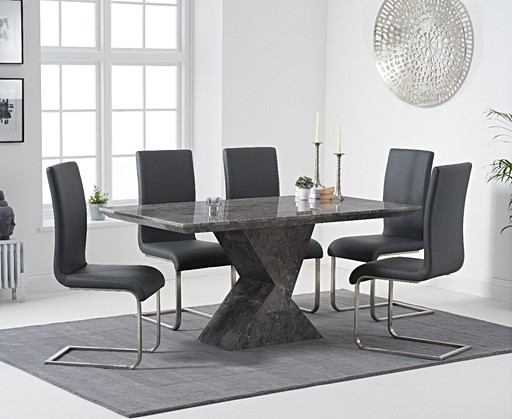 92b6509a2b4d Marble Dining Room Table & Chair Sets | Oak Furniture Superstore