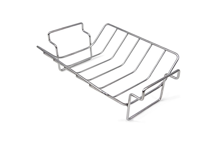 stainless steel rib and roast rack big green egg. Black Bedroom Furniture Sets. Home Design Ideas