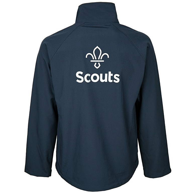 FDL Fleur de Lis Base Layer Soft Shell Jacket with Reflective Logo ... fdb00fb51