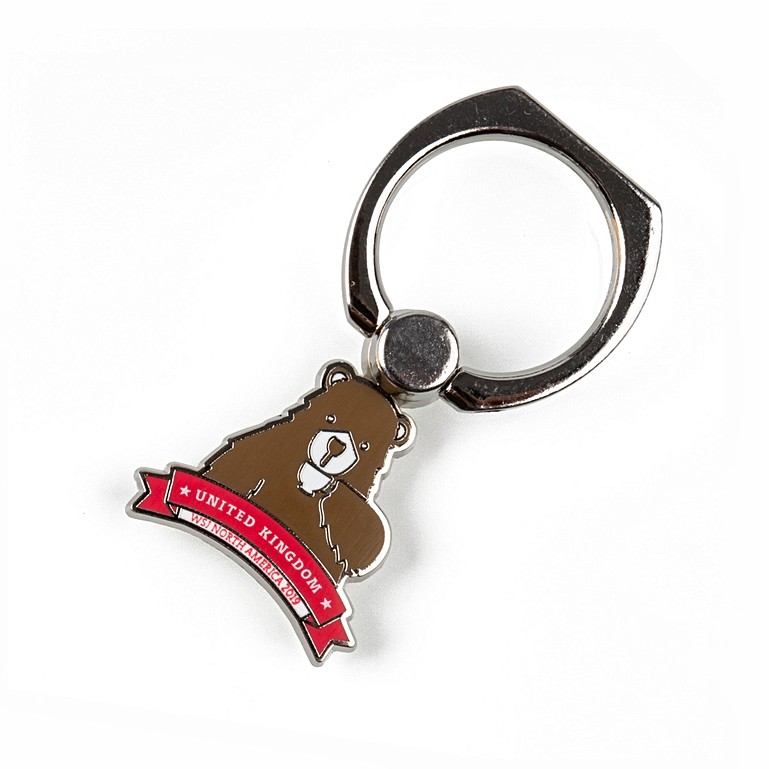 UKC 24th World Scout Jamboree Bear Phone Charm Accessories