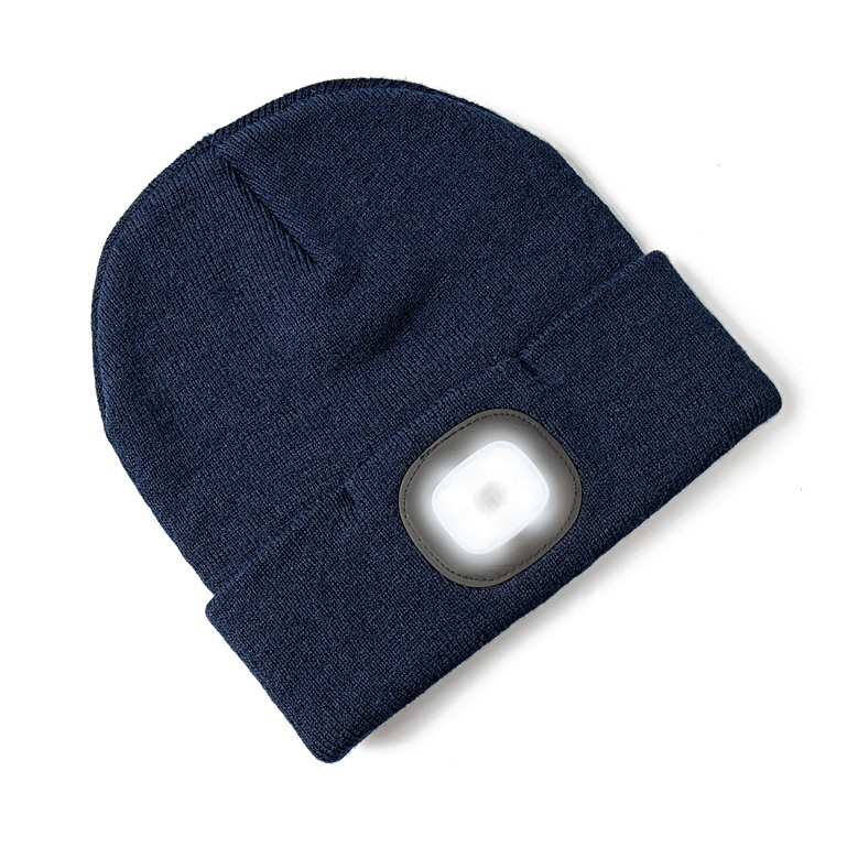 Beanie Hat with Built-in LED Head Torch Accessories af7c7665a462