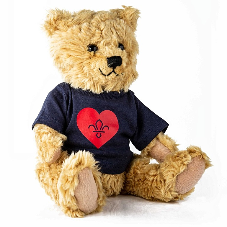 Scouts Beloved Teddy Bear with T-shirt
