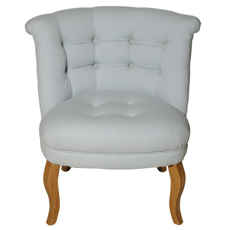Duck Egg Cotton Tub Chair