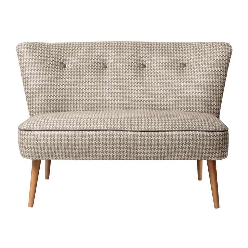 Oliver Bonas Le Cocktail Two Seater Sofa, Blue