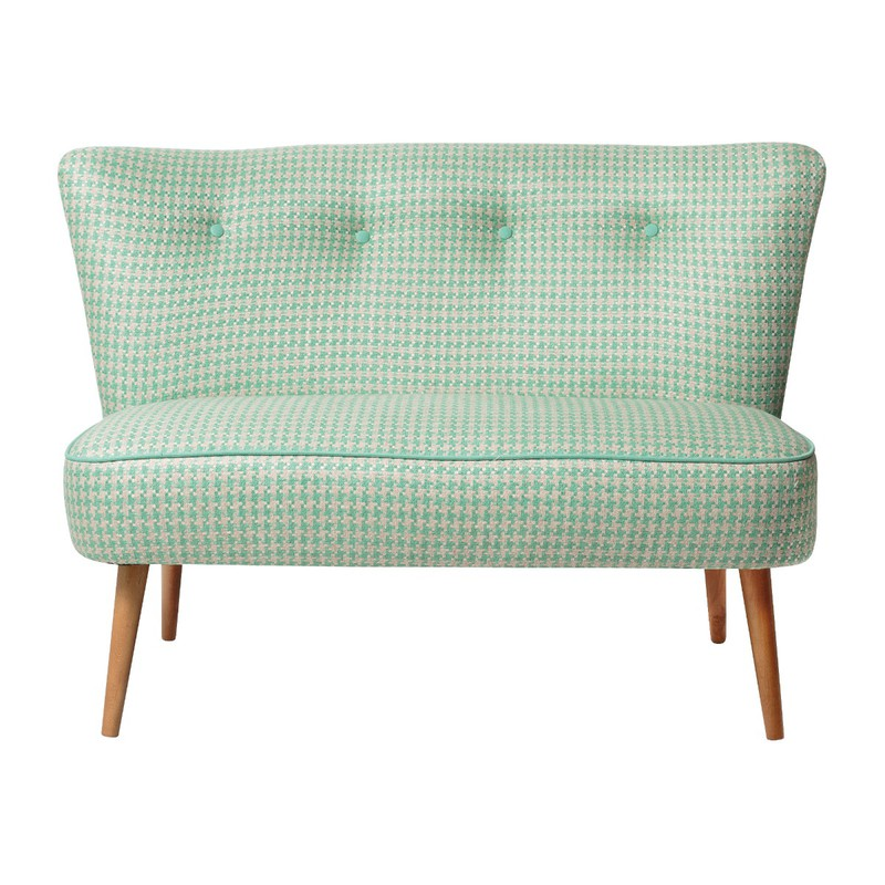 Oliver Bonas Le Cocktail Two Seater Sofa, Grey