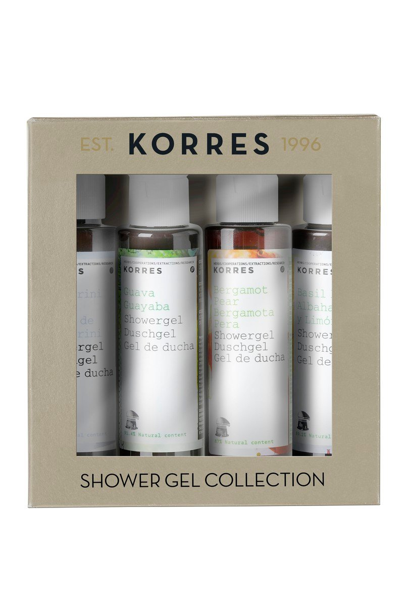 Korres Mini Shower Gel Kit