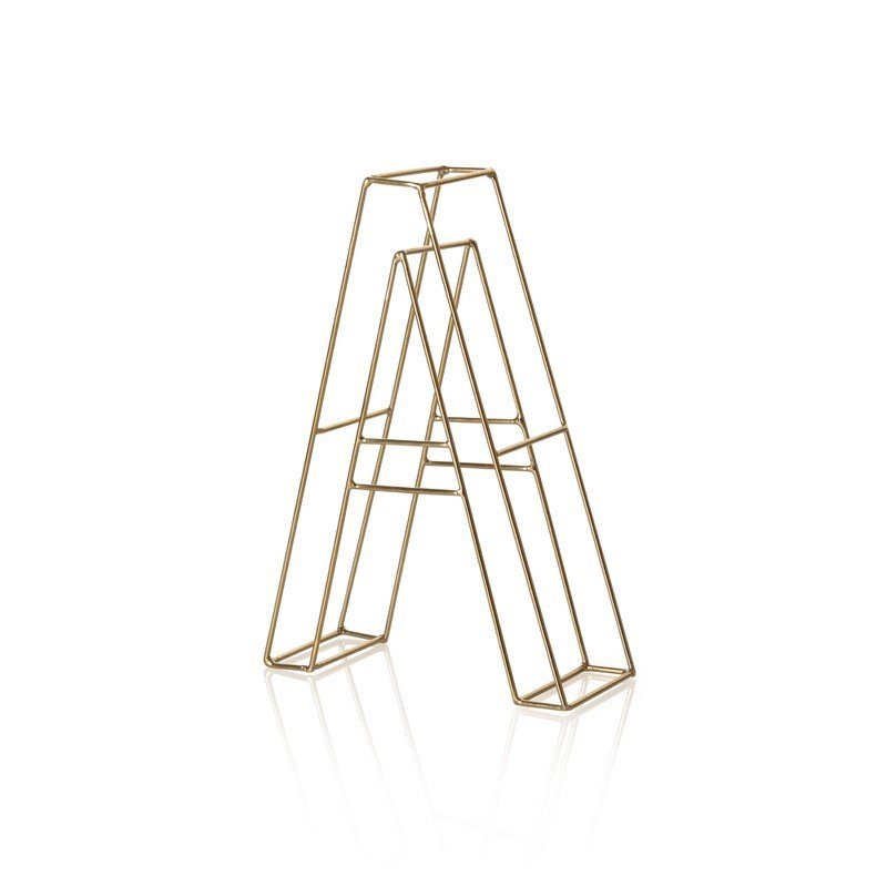Gold Alphabet Letter