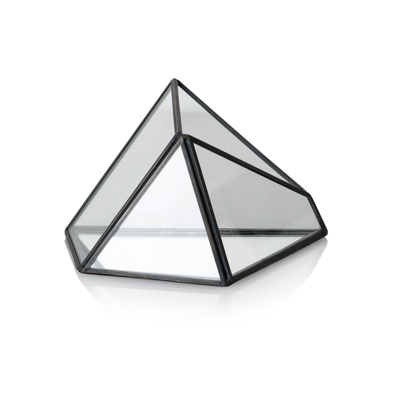 Tent Mirrored Base Terrarium