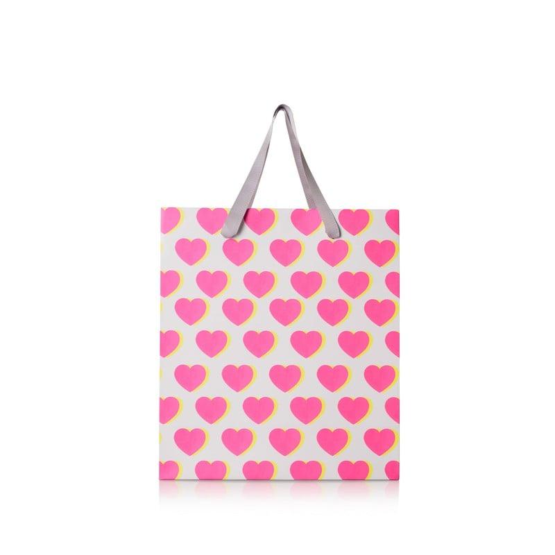 Medium Double Heart Gift Bag
