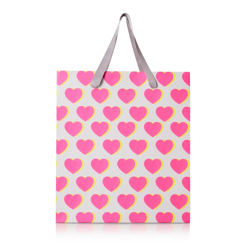 Large Double Heart Gift Bag