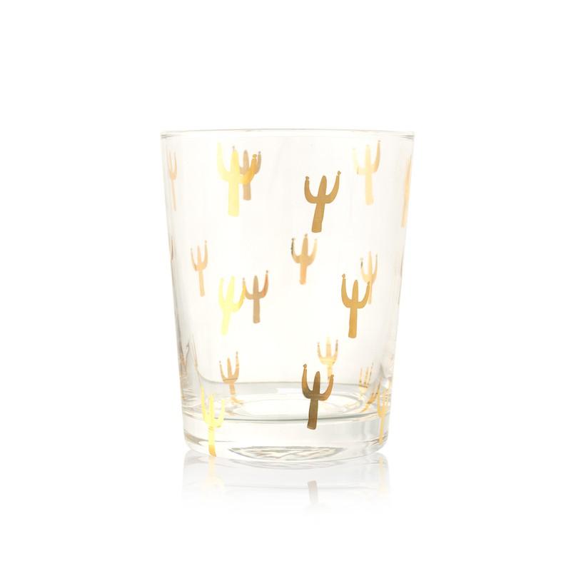 Gold Cacti Tumbler