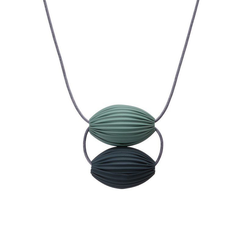 Charlie Rubber Coated Necklace