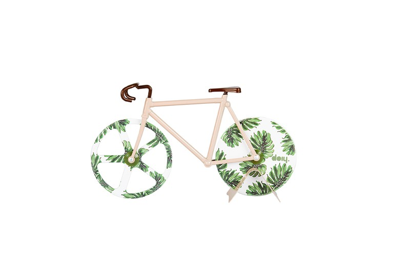 Tropical Vintage Bicycle Pizza Cutter