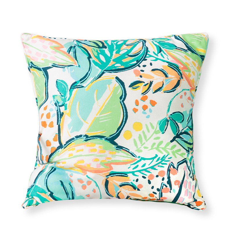 Ro Palm Print Cushion