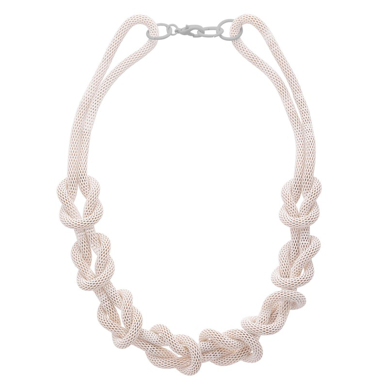 Etta Chunky Knitted Chain Necklace