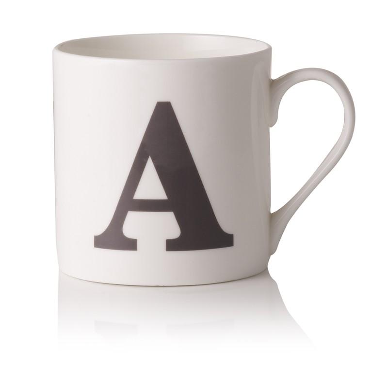 Oliver Bonas Alphabet Mug