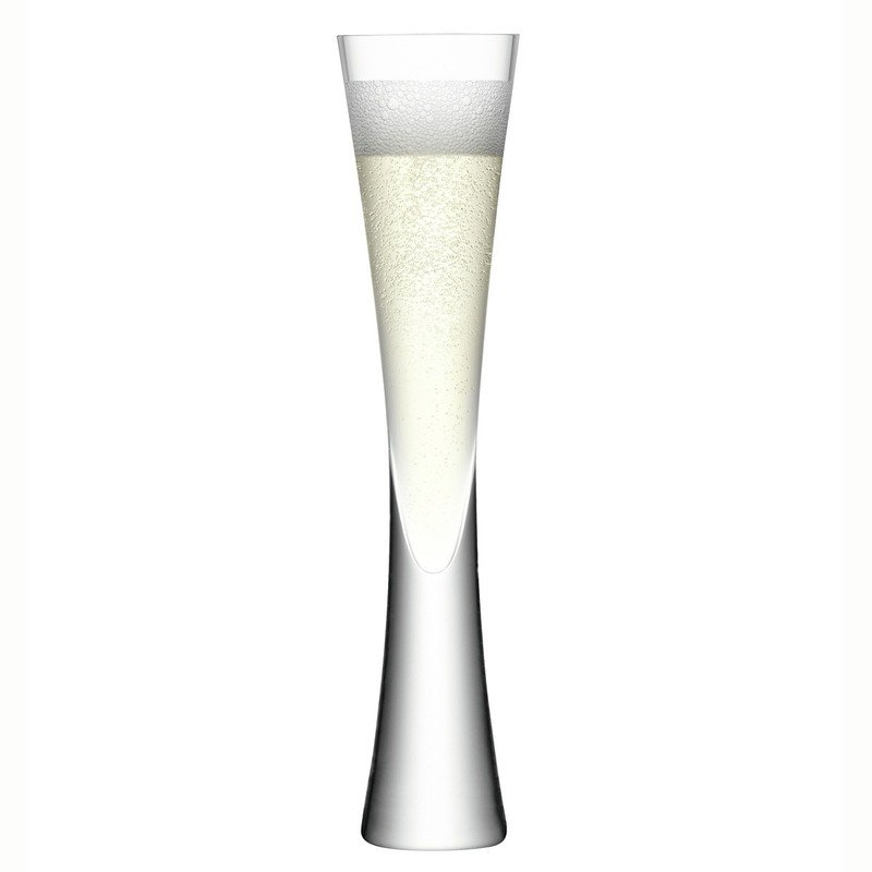 LSA Set of 2 Moya Champagne Glasses
