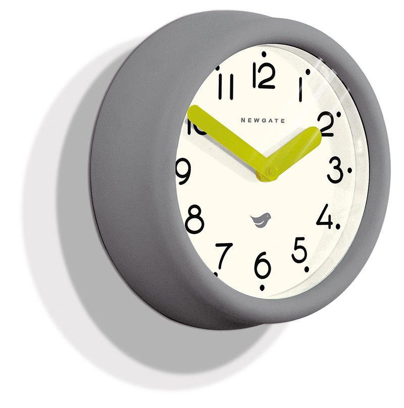 Newgate Grey Pantry Clock