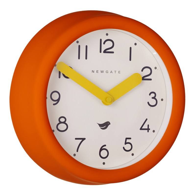 Newgate Orange Pantry Clock